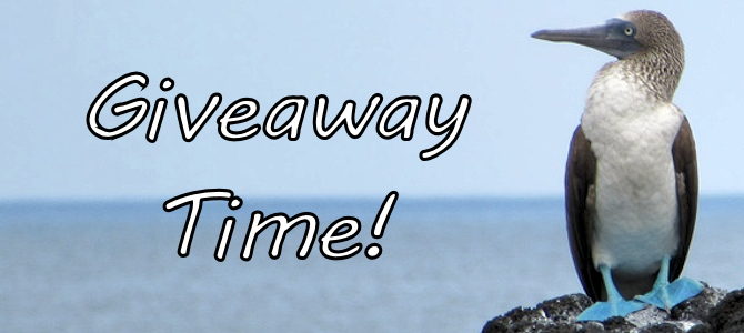 Giveaway Time – Galapagos Birds!