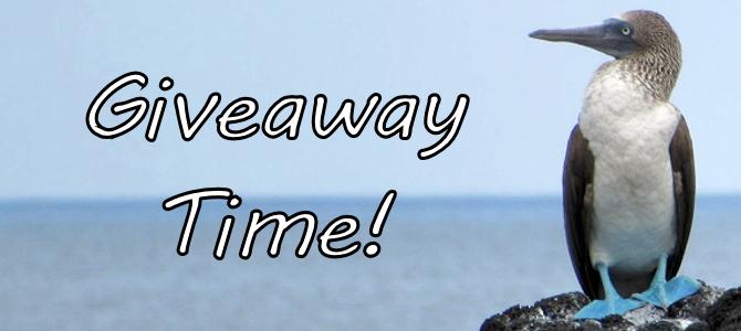 Giveaway Time – Galapagos Birds!