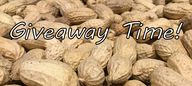 Giveaway Time – Peanut Guess!